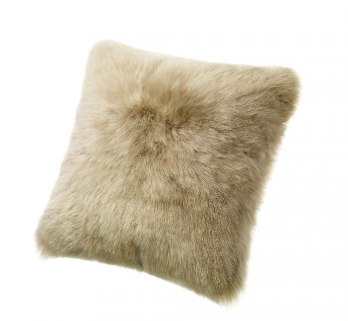 Sheepskin Pillow Taupe