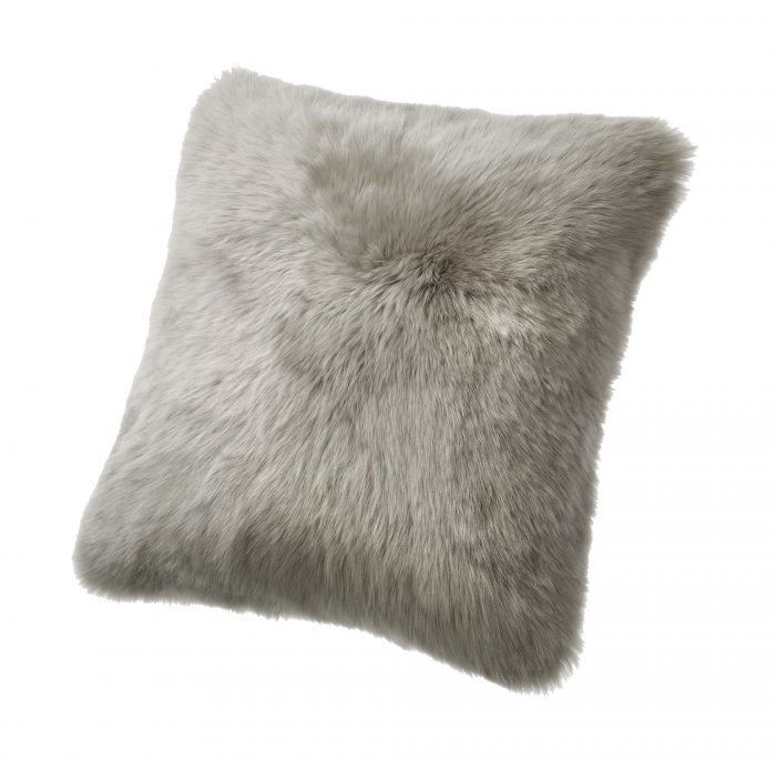 Sheepskin Pillow Gray