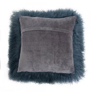 """Tibetan Lambskin 16"""" Cushion"""