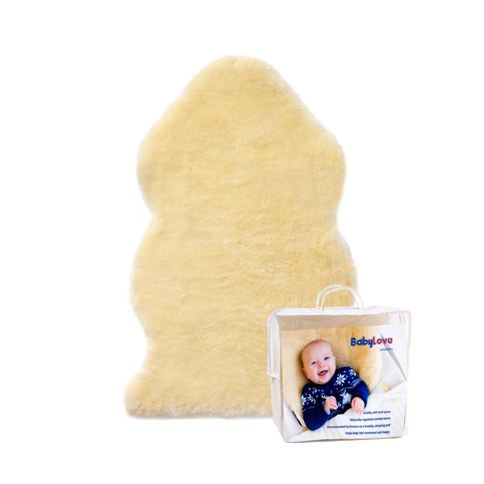 Baby Love Lambskin the Perfect Baby Shower Gift
