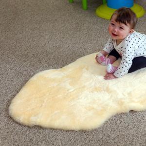 Sheepskin Infant Care Rug