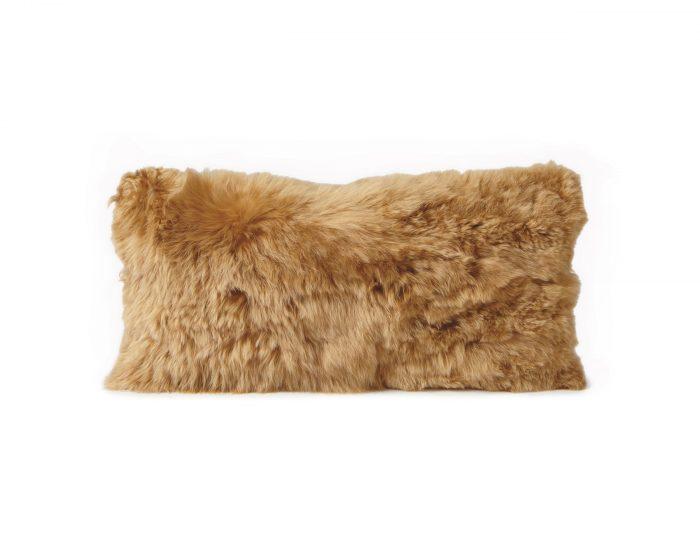 Alpaca Cushion Gold
