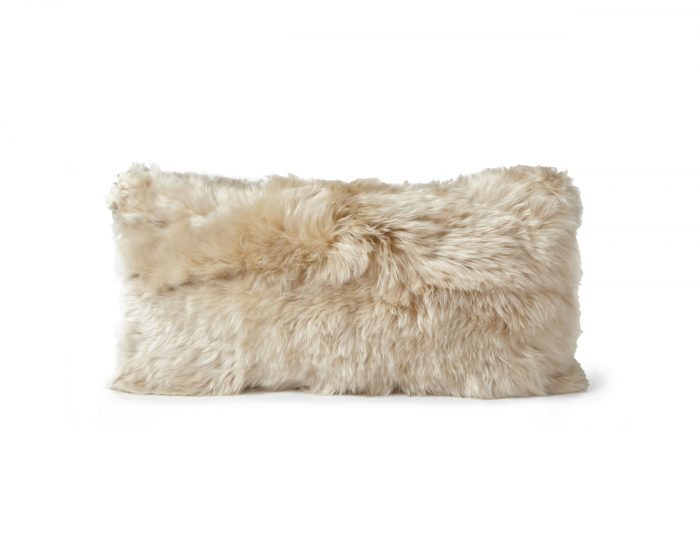 Alpaca Cushion Linen Beige