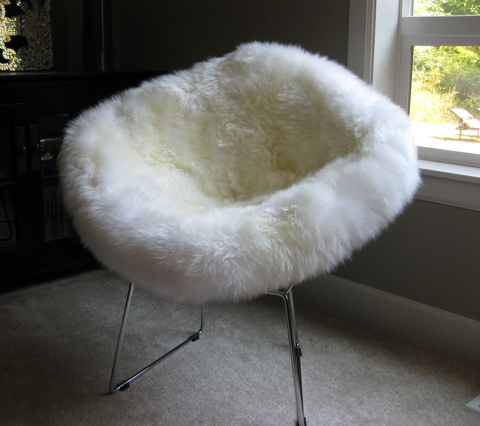 Bertoai Style Wire Chair Cover