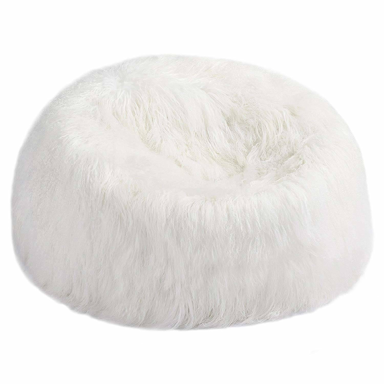 Sheepskin Bean Bag Chair Large Fur
