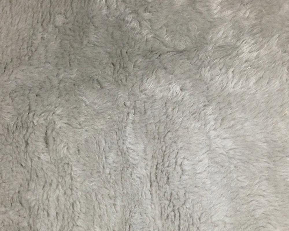 Silver Fake Sheepskin