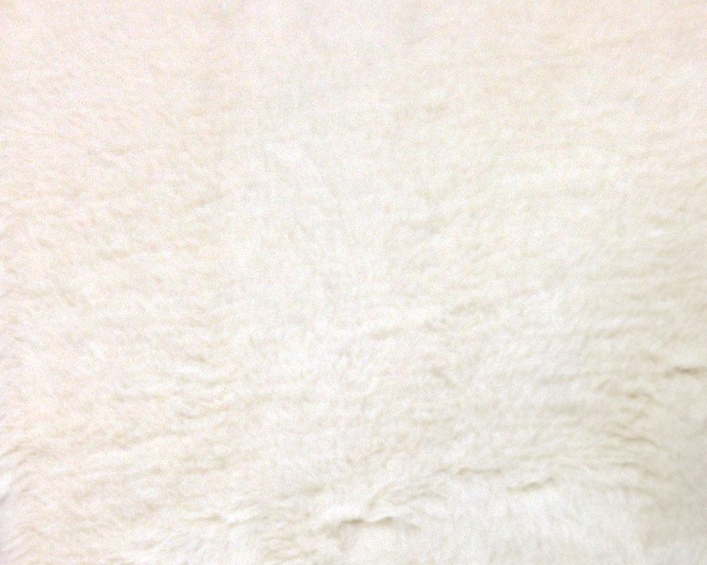 White Fake Sheepskin
