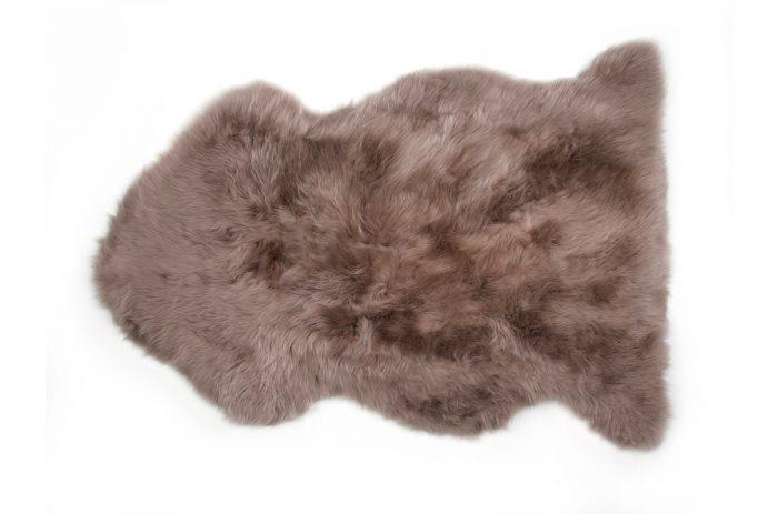 Brown Auskin Sheepskin Fur Rug