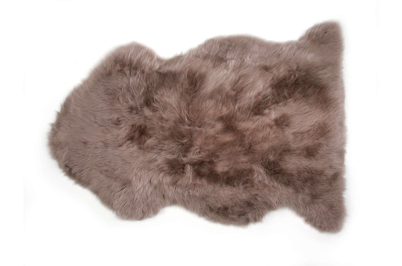 Brown Auskin Sheepskin Fur Rug