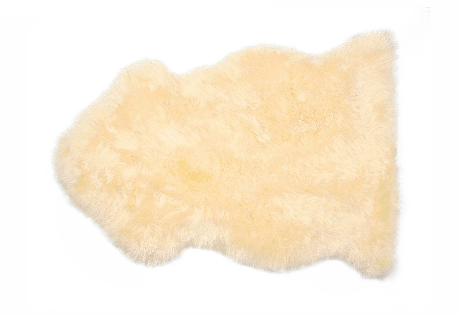 Cream Auskin Sheepskin Fur Rug
