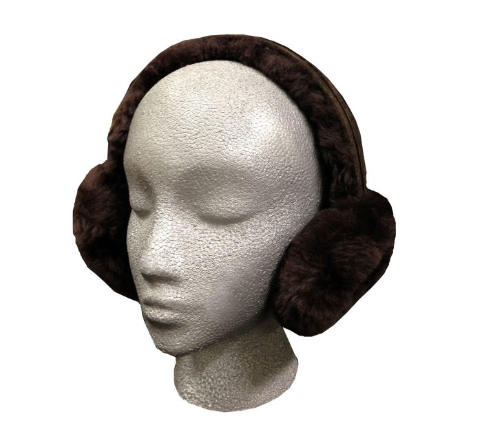 Sheepskin Ear Muffs Brown