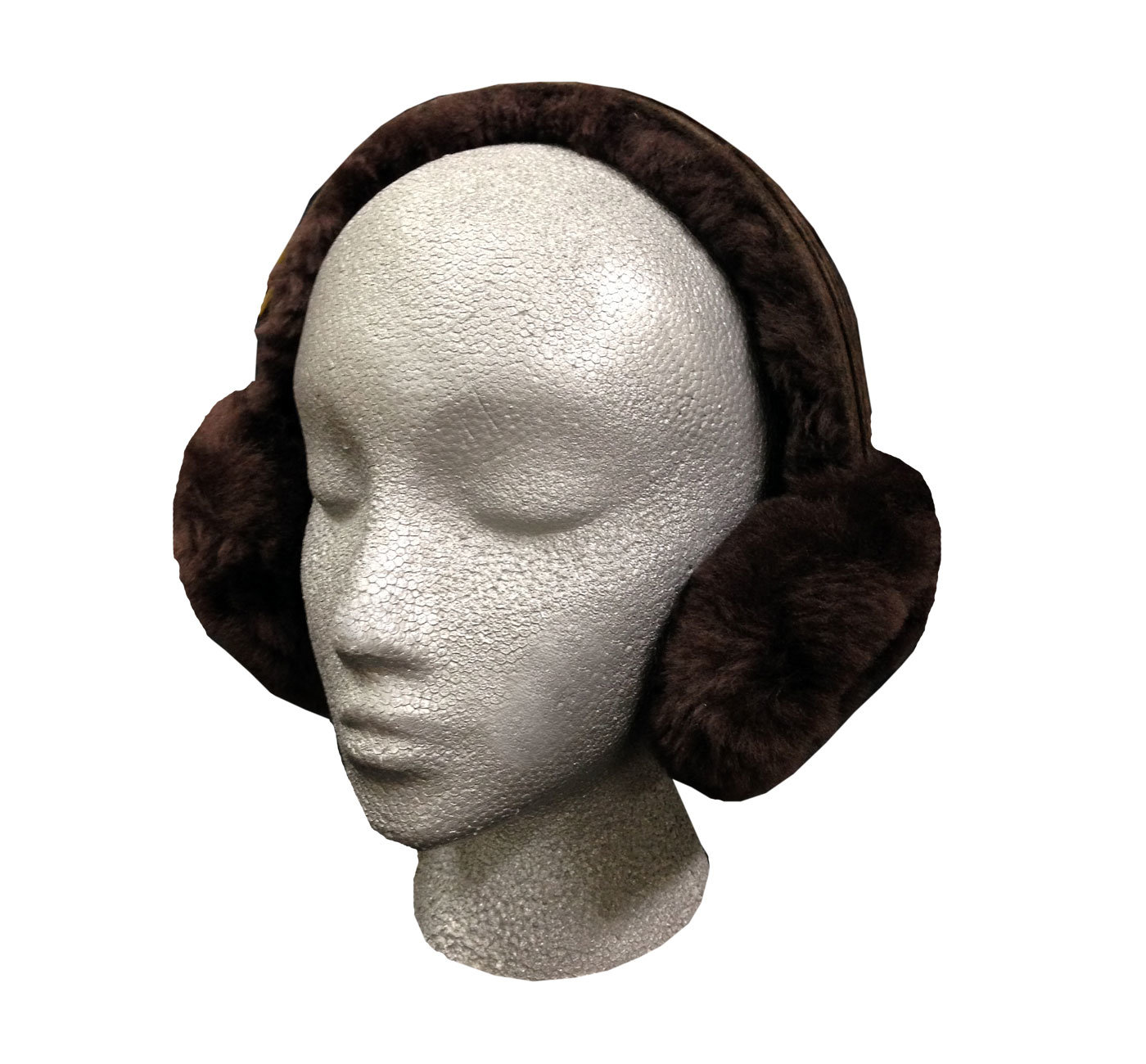 Sheepskin Ear Muffs Brown