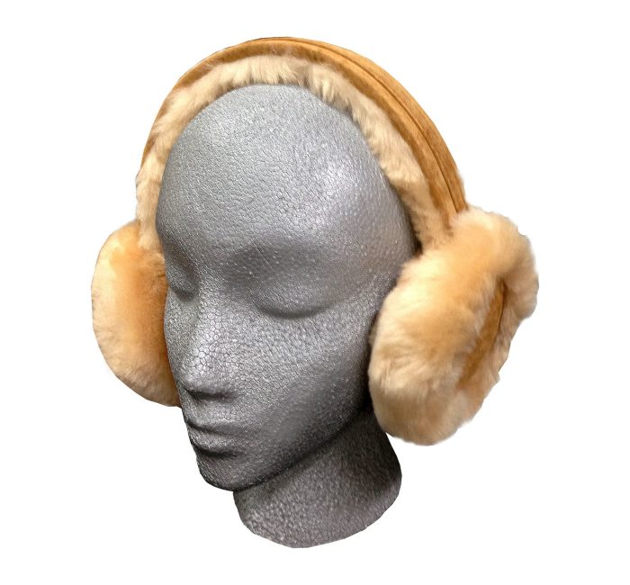Sheepskin Ear Muffs Tan