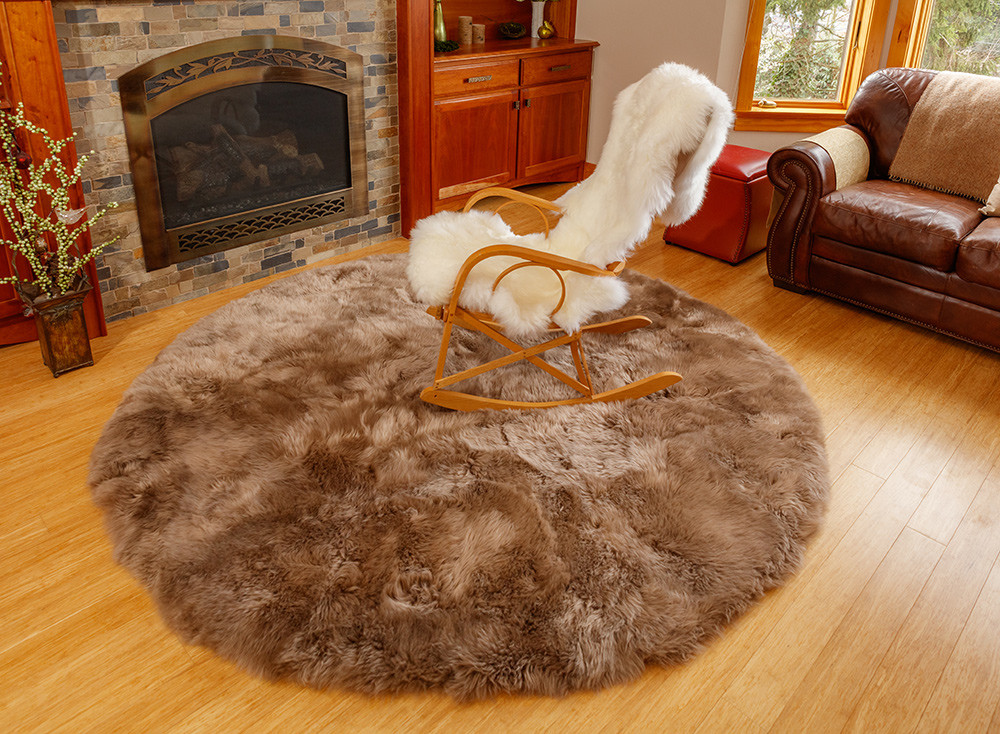 Country Decorating with Sheepskin