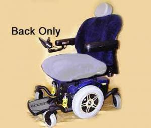 Power Wheelchair Sheepskin Cover Back only