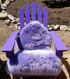 Purple-adirondack-chair-pad