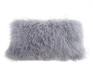 Tibetan Pillow Dove Grey