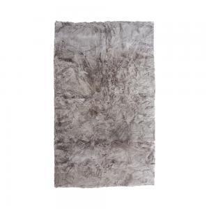 Cool Grey Alpaca Rug