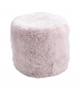 Pale Pink Stump Shorn Icelandic Sheepskin