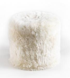 Natural White Stump Shorn Icelandic Sheepskin