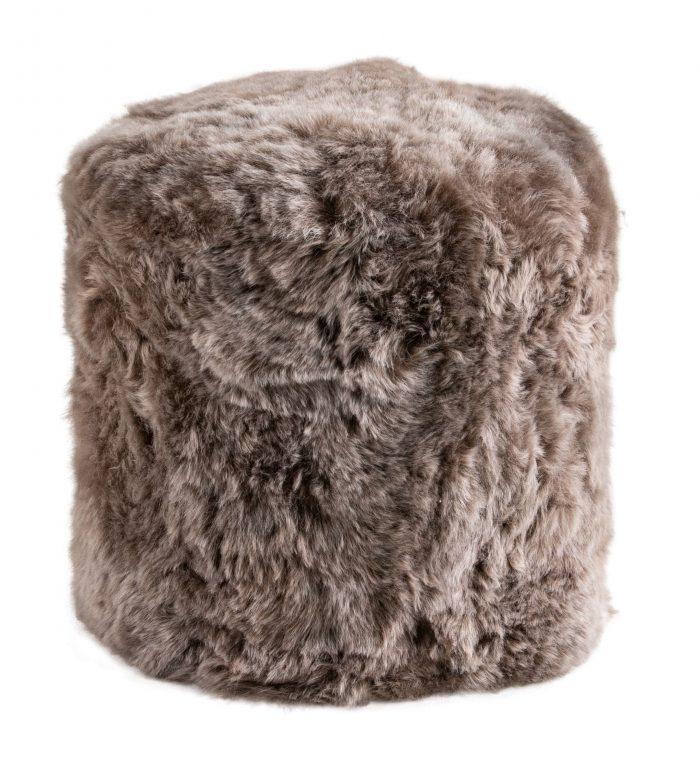 Taupe Stump Shorn Icelandic Sheepskin