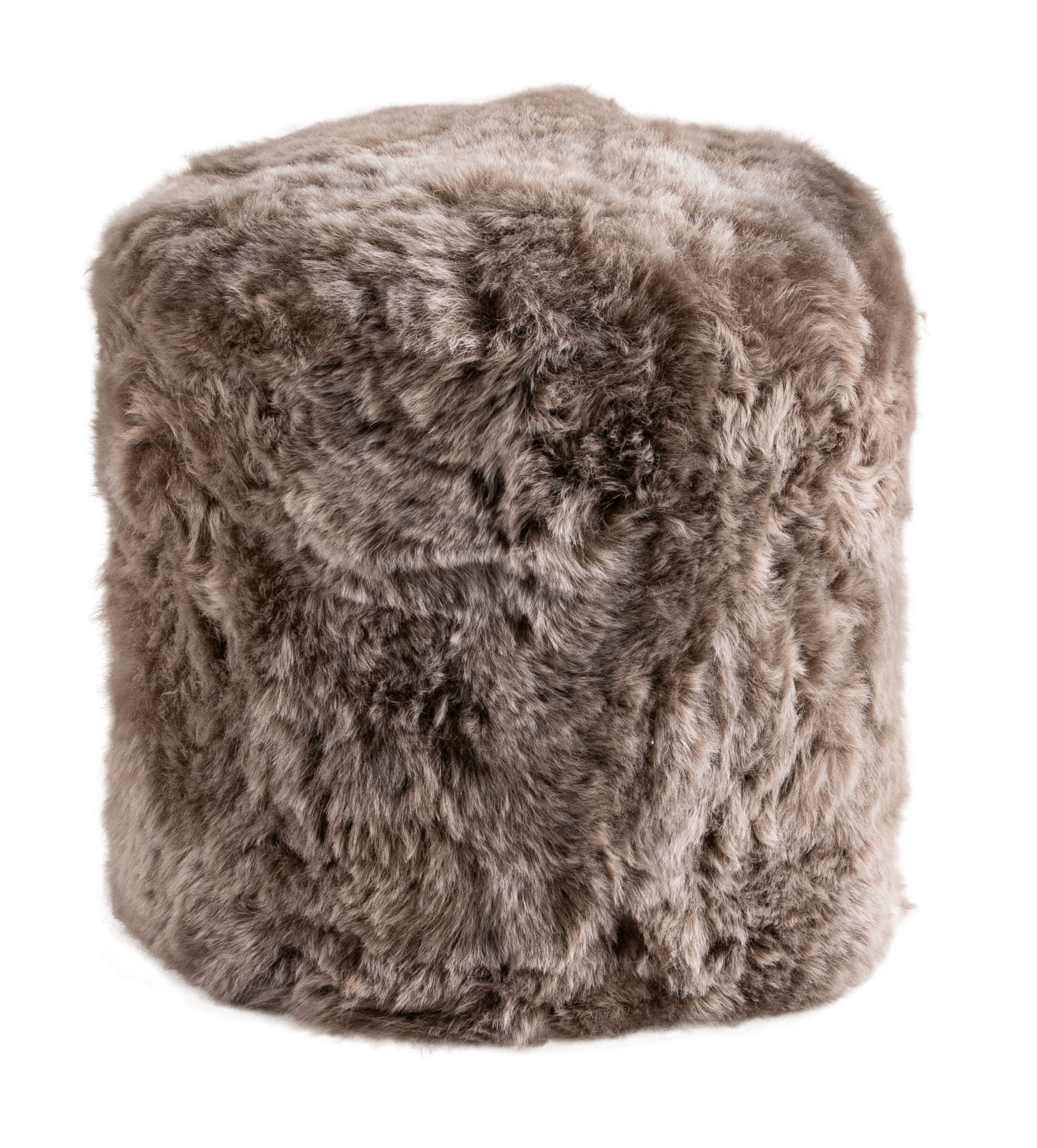 Taupe Stump Shorn Icelandic Sheepskin