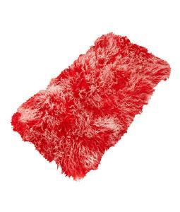 Tibetan Lambskin Throw Rug