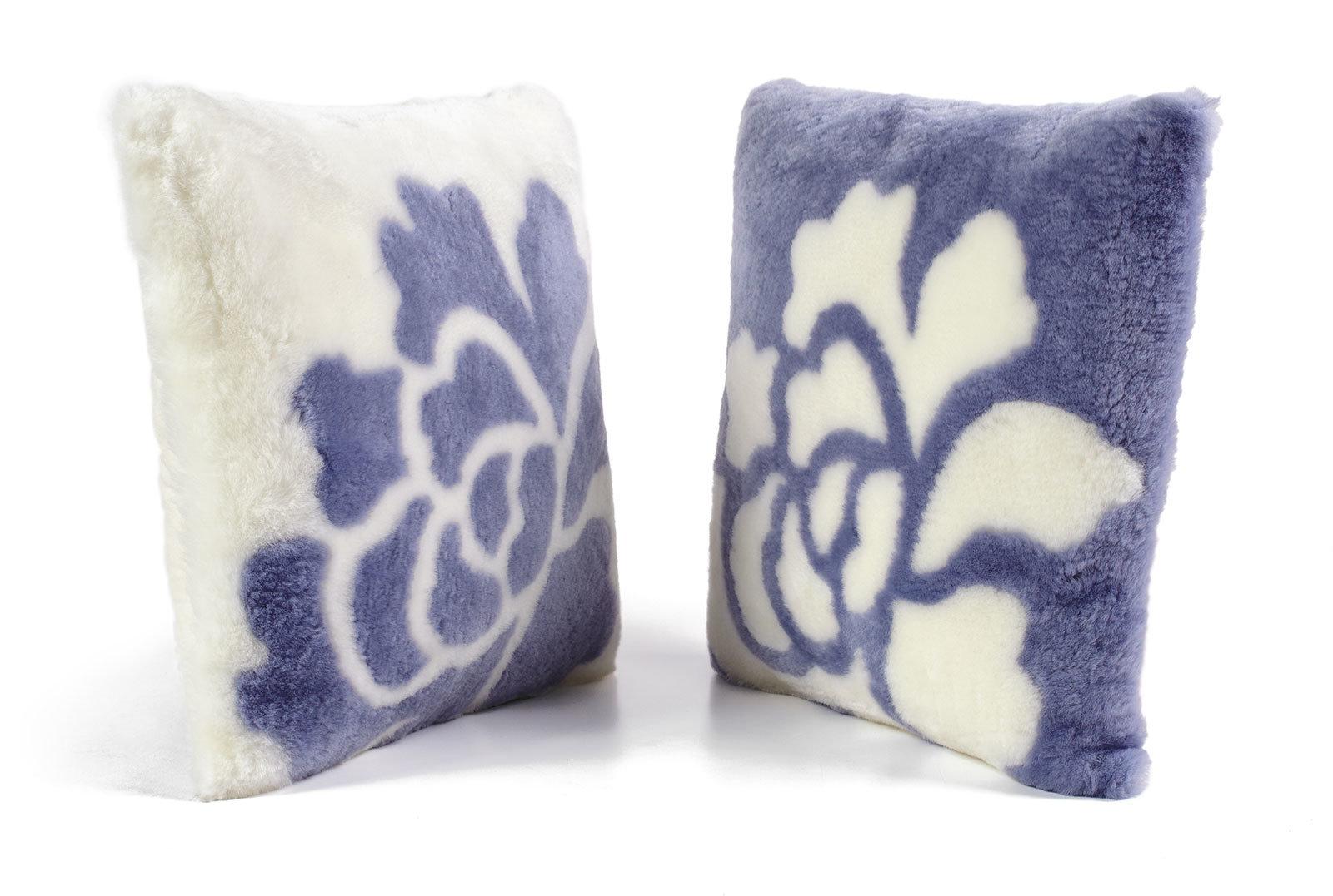 Sheepskin Shearling Pillows Petal