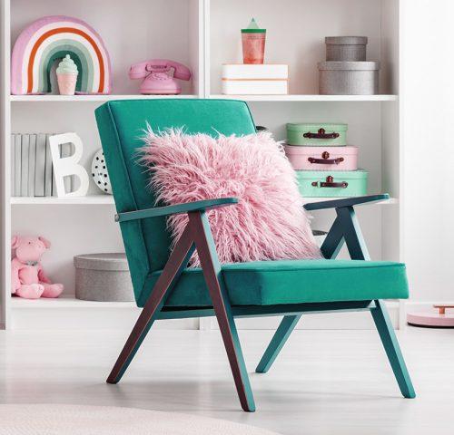 Tiubetan Lambskin Colorful Throw Pillows